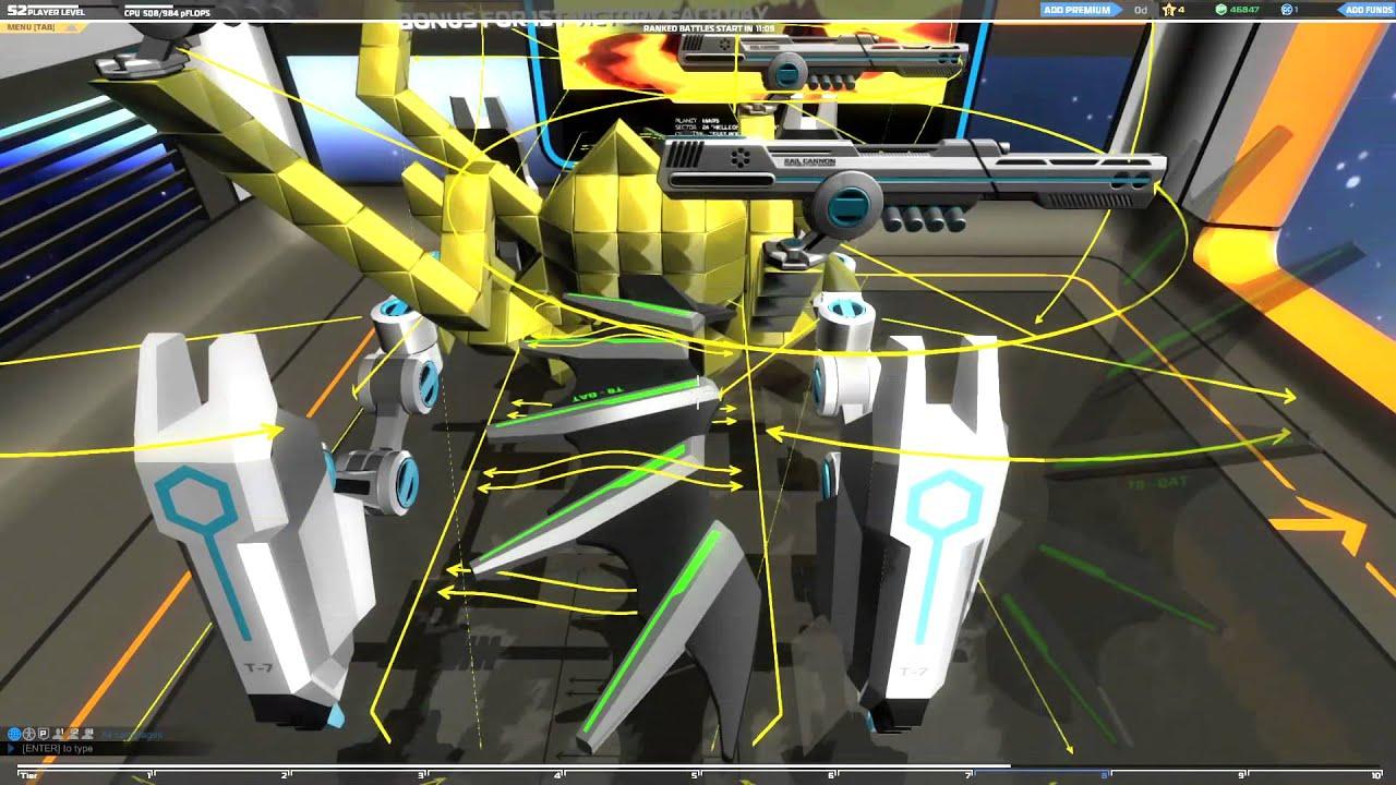 Rail walker robocraft