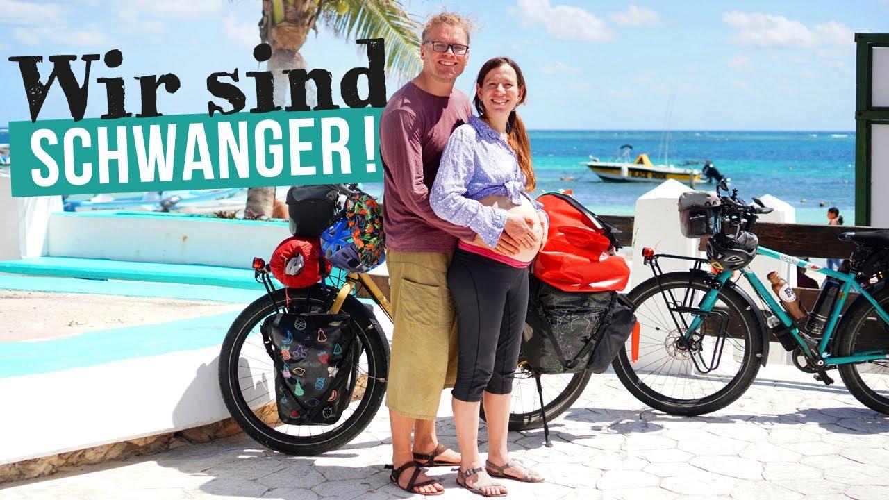 Schwanger auf Fahrrad Weltreise! Zurück nach Mexiko, so