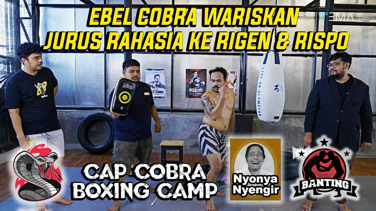 NGAWUR BANGET ! EBEL COBRA LATIH RIGEN & RISPO MMA   SANGGAR JADI KACAU