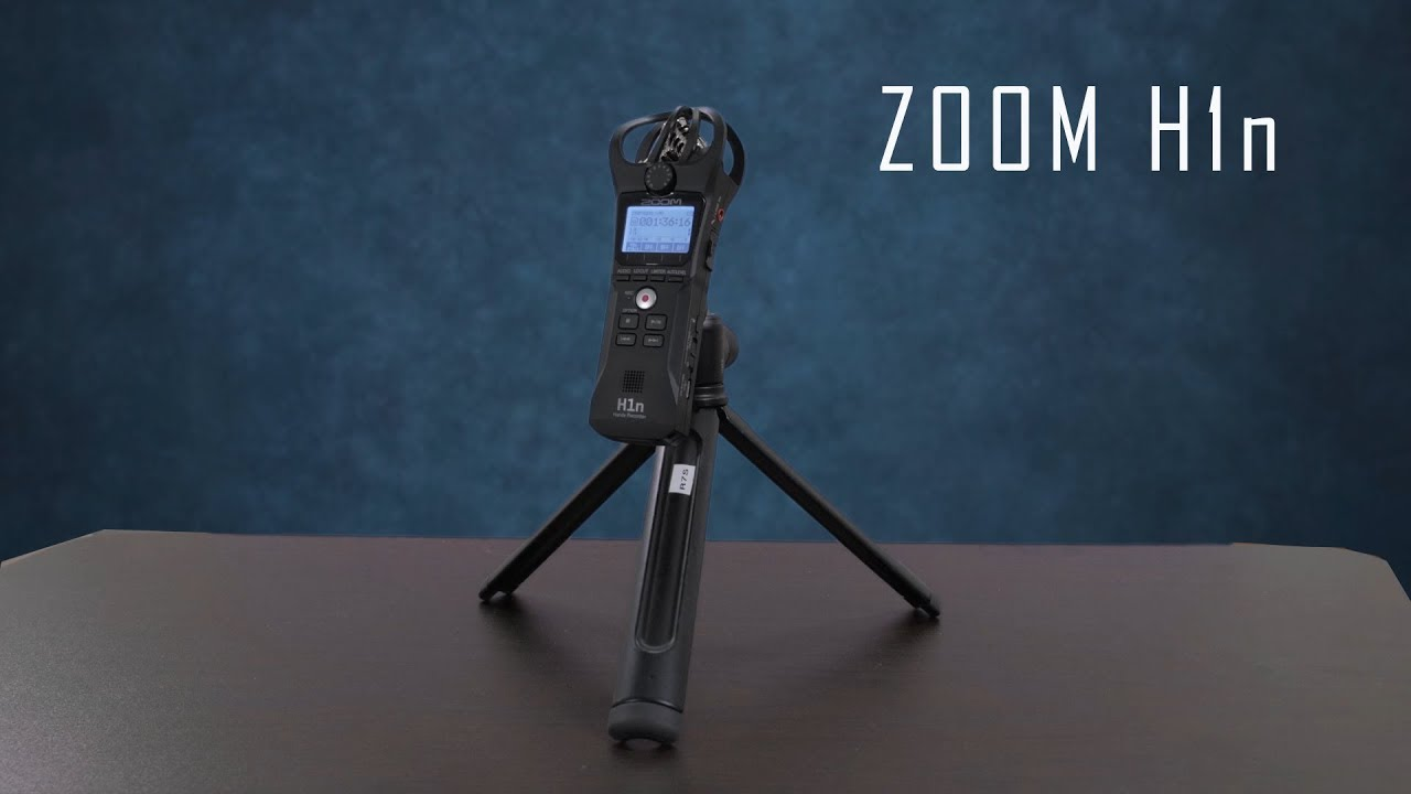 New to Me) Zoom H1n - Review - YouTube
