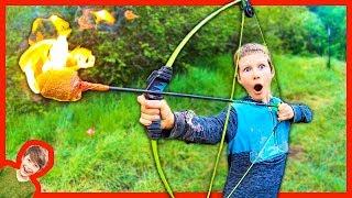 Axel Shoots A FLAMING ARROW!