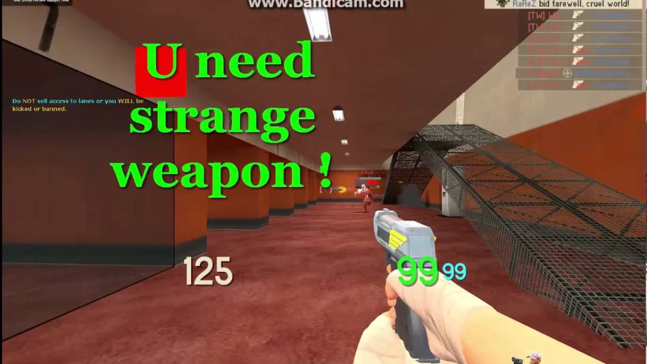 How rank up strange weapons level up in team fortress 2 youtube altavistaventures Images