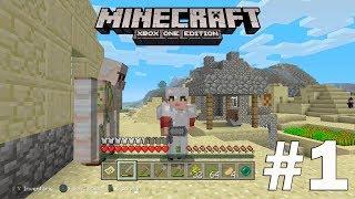 Minecraft: Xbox One Edition Nuevo Mundo SURVIVAL DIFICIL Capitulo 1