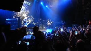 Motörhead - Band Introduction Orlando 9/25/15 - Lemmy gets mad at the end