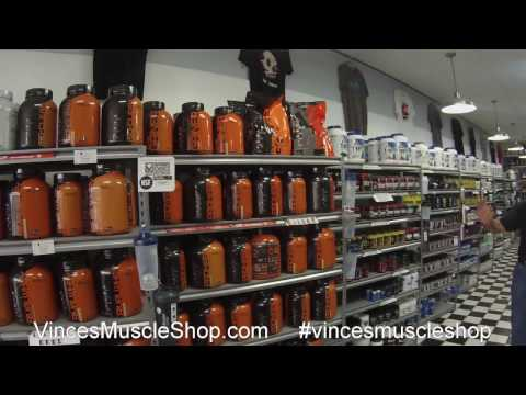 Vince's Muscle Shop 2017-  The Best Supplement Store In Columbus