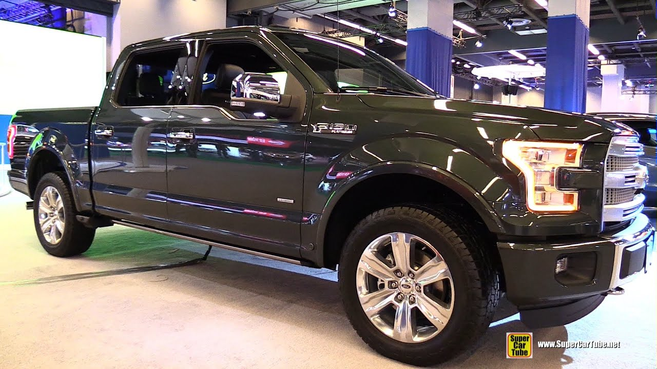 2015 Ford F 150 Platinum 4X4 Exterior and Interior Walkaround