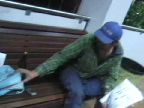Nambour hobo does interview