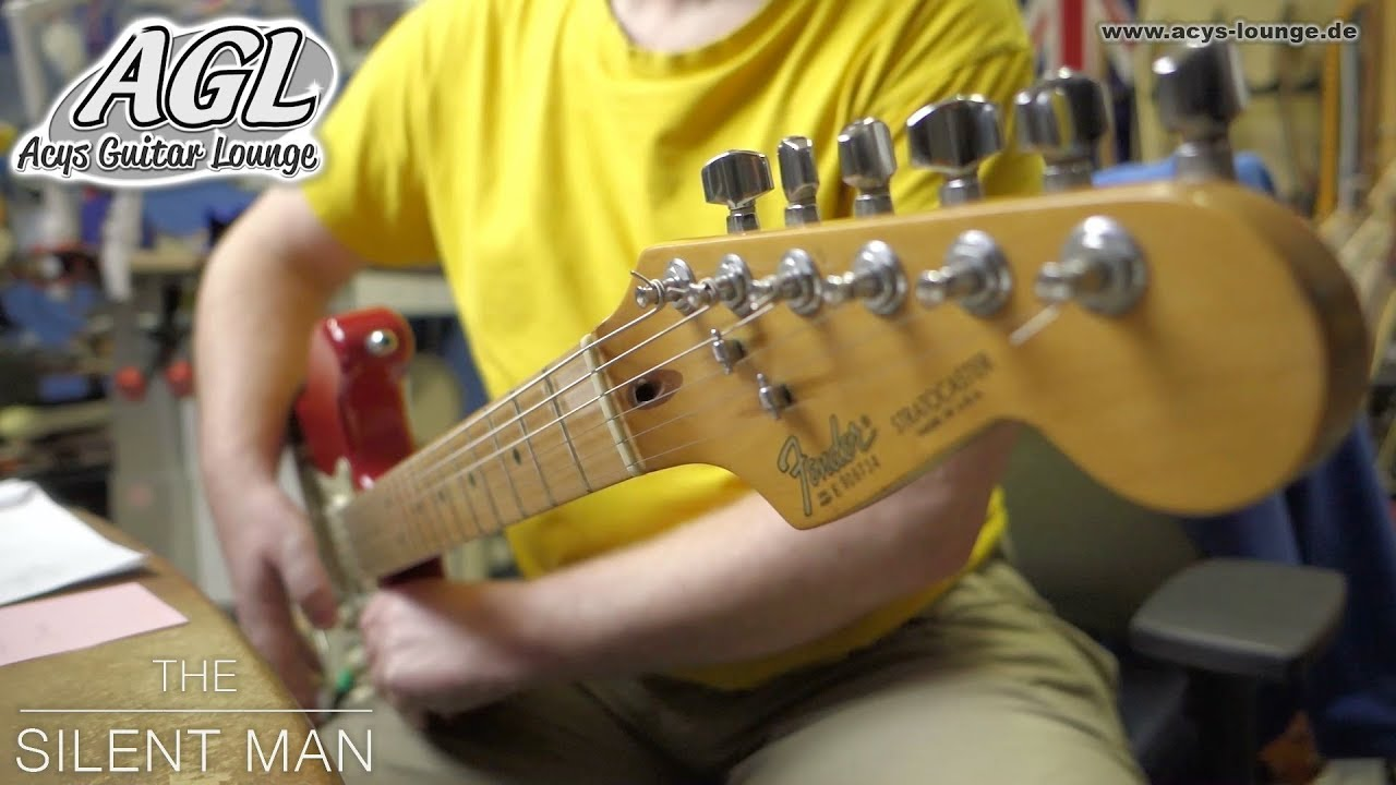 Red Fender Strat meets HSS Solo wiring 02 - YouTube