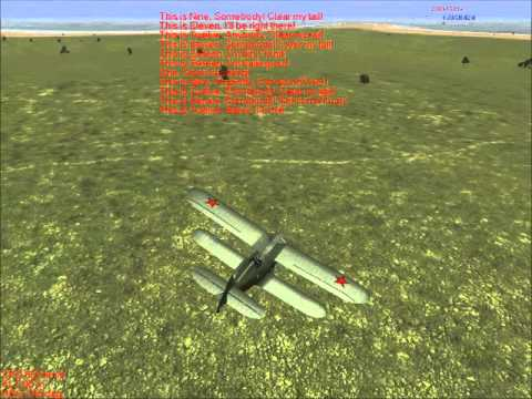 IL-2 1946 I-153 vs Fiat CR.42