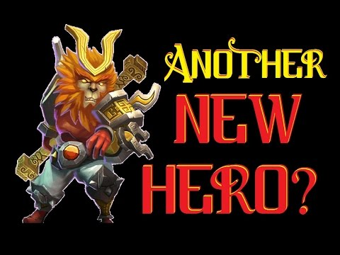 Castle Clash - Hero - Simian Saint/Monkey King