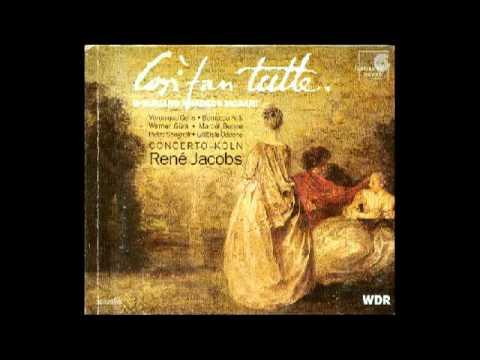 Wolfgang Amadeus Mozart - Cosi Fan Tutte, 'Soave sia il vento'  (terzettino)