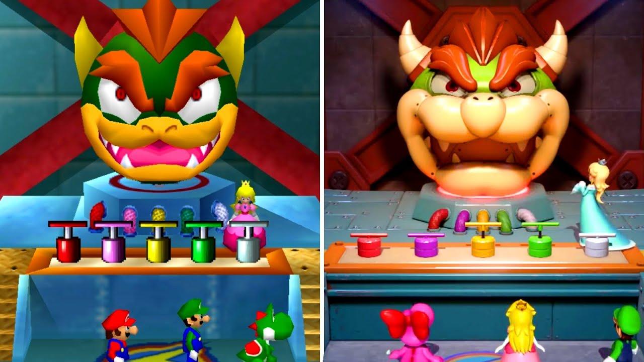 Mario Party Superstars - All Minigames Comparison (Switch VS N64)