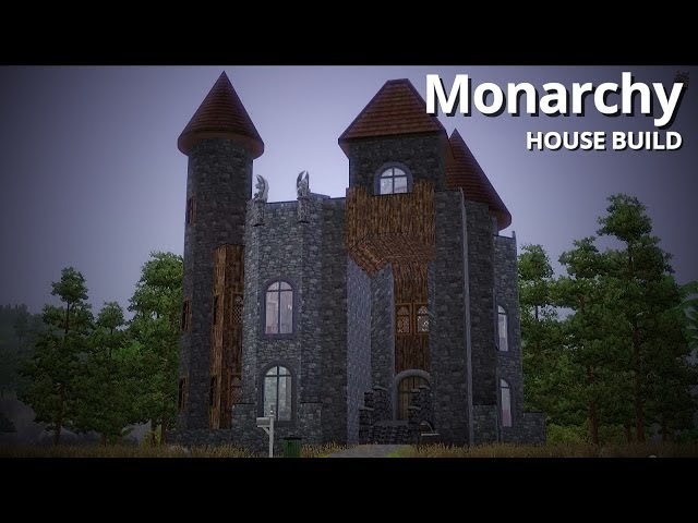 The Sims 3 House Building - Monarchy