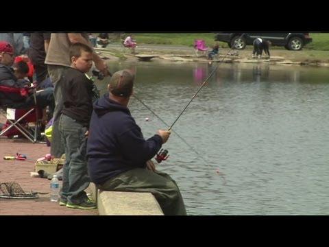 Kids Fishing Derby Held In Springfield