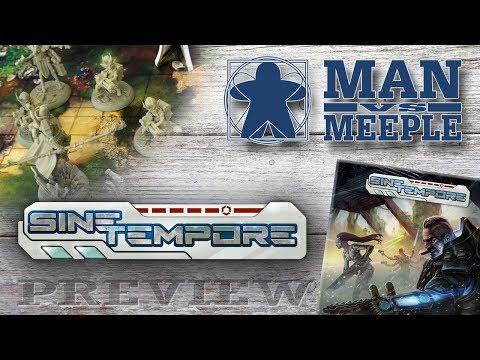 Sine Tempore: The Last Hope (Ludus Magnus Studio) Preview by Man Vs Meeple