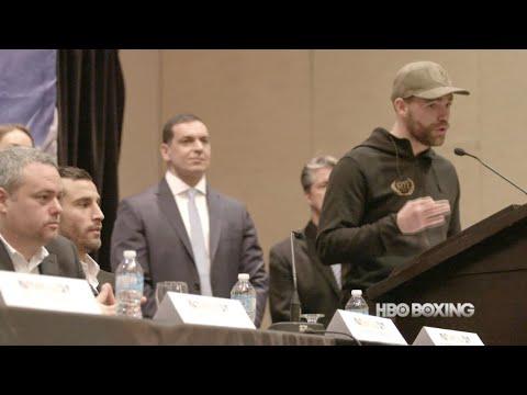 Saunders vs Lemieux Press Conference Recap (HBO Boxing News)
