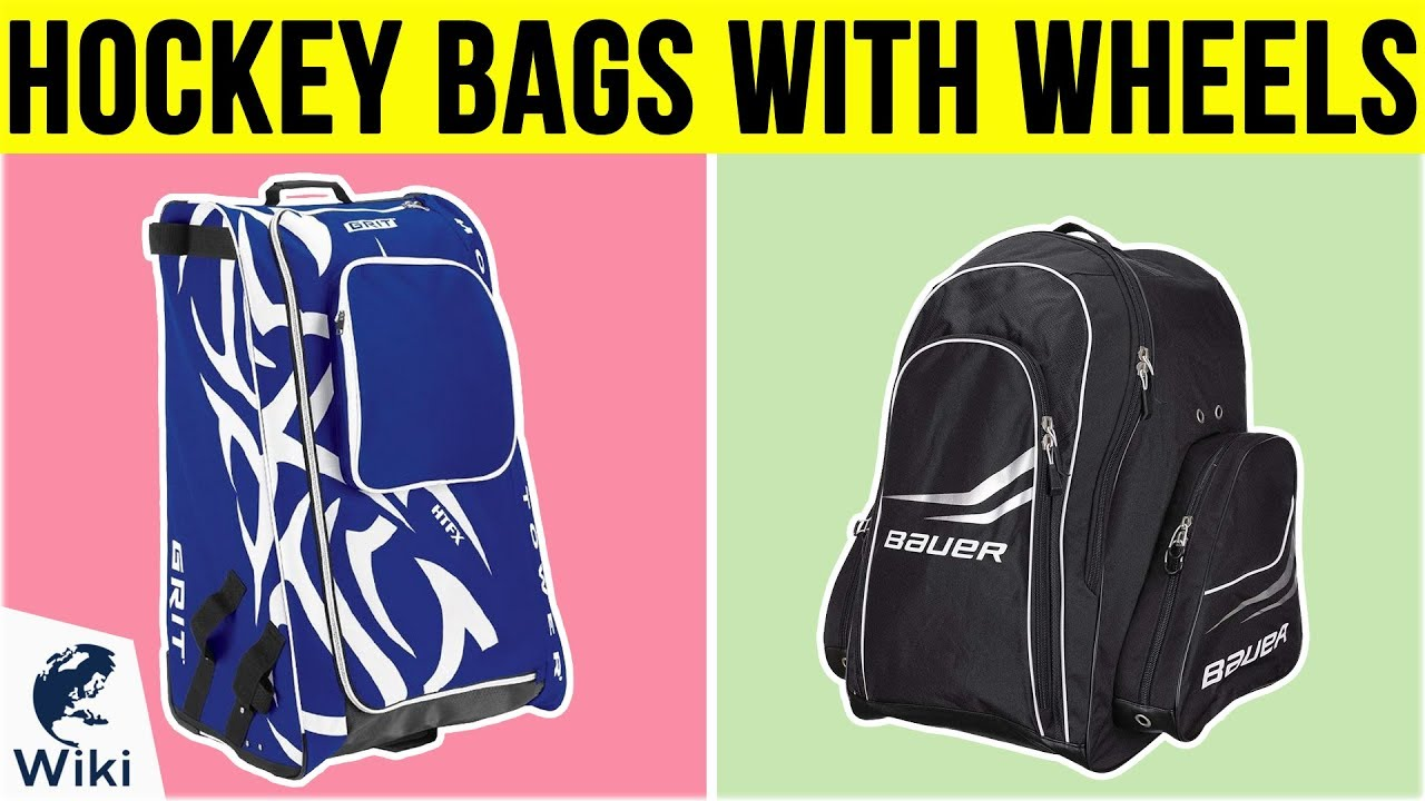 8 Best Hockey Bags With Wheels 2019