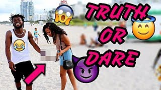 PUBLIC TRUTH OR DARE WITH PRETTY GIRLS MIJEEZAS