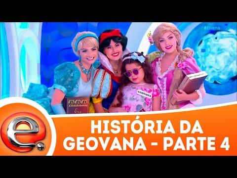 História da Geovana - Parte 4 | Programa Eliana (01/04/18)