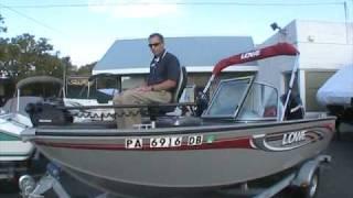 2009 Lowe FS165 Fish & Ski at Peters Marine Service