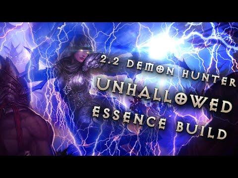 Demon Hunter Build & Gear: Lightning Unhallowed Essence - Diablo 3 ...