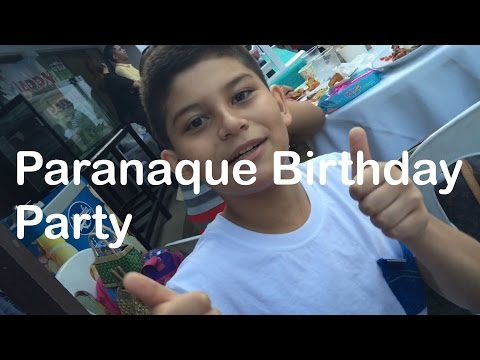Paranaque Birthday Party by HourPhilippines.com
