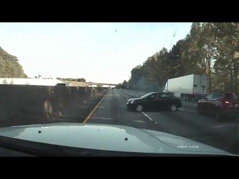 wreck on i75 - Atlanta GA