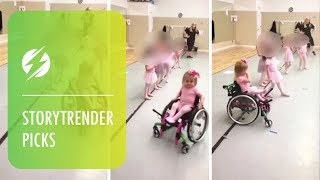 Disabled Girl Aces Ballet Class In Wheelchair