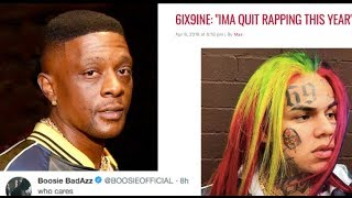 Boosie Is Sick Of All The Media Attention Tekashi 69 Is Getting,