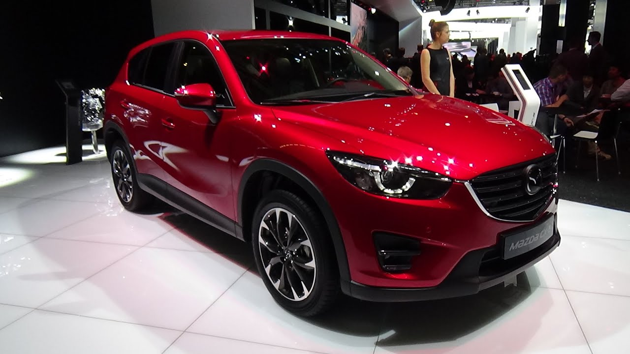 2016 mazda cx 5 exterior and interior iaa frankfurt 2015 youtube. Black Bedroom Furniture Sets. Home Design Ideas