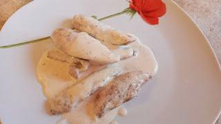 Куриное филе в сливочном соусе на канале Это Приготовит Каждый