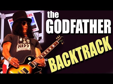 The Godfather Theme Song – Slash Version Guitar Backing Track TCDG