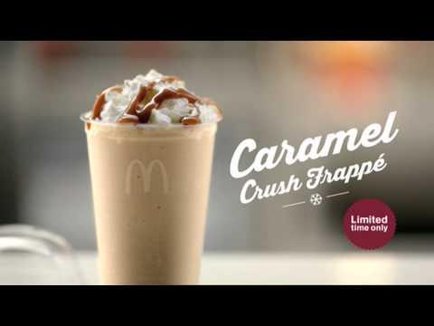 McDonalds - Caramel Crush Frappe 15s - Australia, 2012