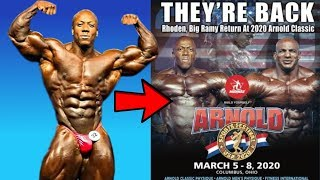 Will Shawn Rhoden be Allowed to compete at the Arnold Classic 2020?