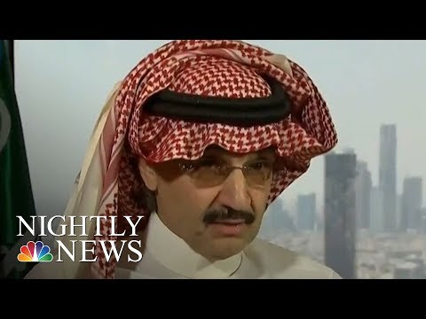 Saudi Arabia Anti-Corruption Committee Detains 11 Princes, 4 Sitting Ministers | NBC Nightly News