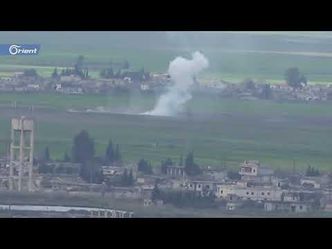 شاهد ميليشيا أسد تستهدف قرى ريف حماة ومخيمات النازحين المحيطة  - 18:53-2019 / 3 / 18