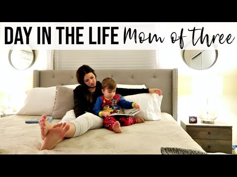 REAL DAY IN THE LIFE VLOG // Busy Stay At Home Mom of 3 Kids