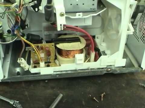 Fixing Panasonic inverter microwaves  YouTube