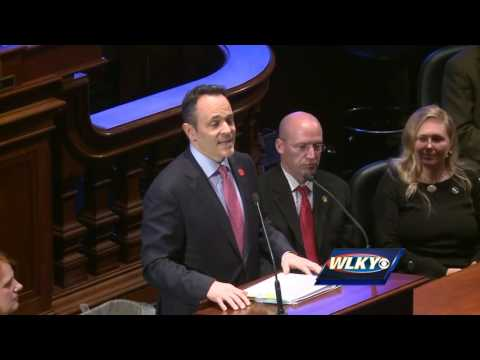 Gov. Matt Bevin delivers State of the Commonwealth address