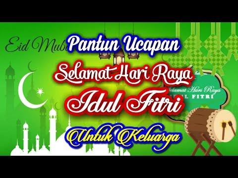 Pantun Ucapan Selamat Hari Raya Idul Fitri 2021 (untuk Keluarga)