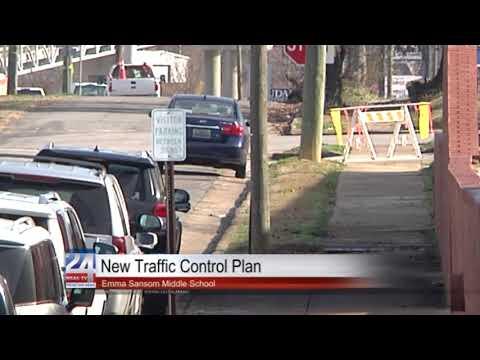 New Traffic Control Plan for Emma Samson Middle School