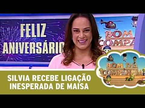 Bom Dia & Cia (18/04/16) - Silvia Recebe Ligação Inesperada De Maisa