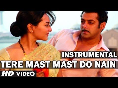 Tere Mast Mast Do Nain Violin Cover (Instrumental Song) - Dabangg - Salman Khan, Sonakshi Sinha
