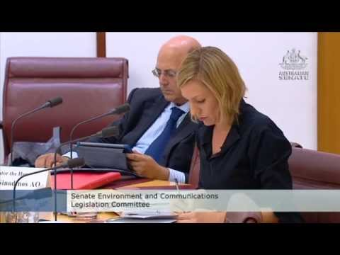Senate Estimates: Will You Approve The Shenhua Watermark Mine On Old Advice?