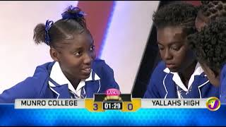 Munro College vs Yallahs High (SCQ) February 19 2019