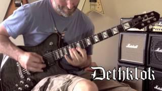Dethklok - Deththeme Guitar Cover