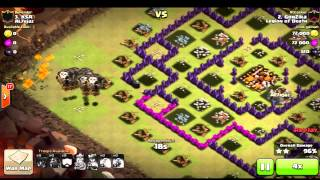 Clash of Clans - Clã Legion of Death - TOP 4 DO HISK8 (ASSISTIR EM HD)