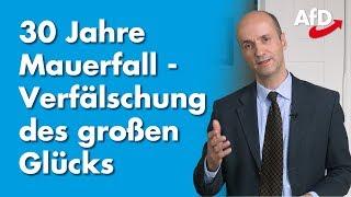Nicolaus Fest zu  30 Jahren Mauerfall und der Verfälschung des großen Glücks!