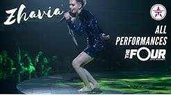 ZHAVIA: All Performances On 'The Four' | The Four Season 1