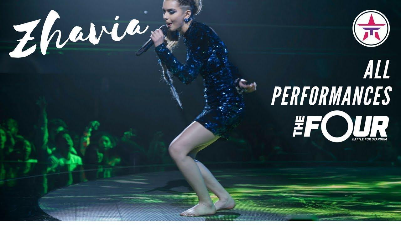 Download ZHAVIA: All Performances On 'The Four'   The Four Season 1